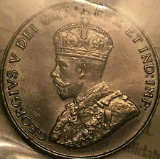 1931 CANADA 5 CENTS COIN - ICCS AU-55 - Close to Uncirculated