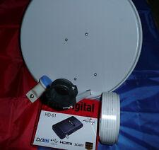 HDTV Camping SAT Anlage komplett mit HD SAT-Receiver und Zubehör- Super Preis!!!