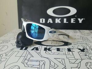 Oakley Scalpel WHITE CHROME not Splice twenty Eye Jacket Jawbone Juliet...