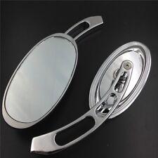 Custom Chrome Mirrors Fit Harley Softail/Fat Boy/Big Dog/Titan/Iron Horse/Ultra