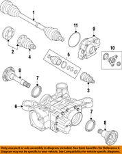 AUDI OEM 08-15 TT Quattro Rear Axle-Carrier 0BR525010G