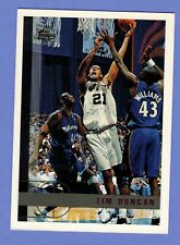 1997-98 TOPPS TIM DUNCAN RC ROOKIE #115 SAN ANTONIO SPURS.       4681