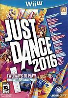 Just Dance 2016 (Nintendo Wii U, 2015) NEW