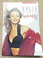 Kylie Minogue Enjoy Yourself Tour Programme 1990