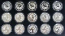 Australian Kookaburra Silver Bullion Coins & Rounds