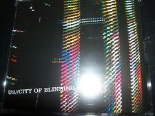 U2 City Of Blinding Lights EU Promo CD Single – Like New