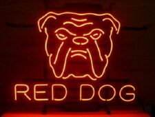 "New RED DOG Beer Bar Neon Light Sign 19""x15"""