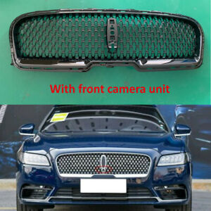 For Lincoln Continental 2017-2020 Front Upper Grill Bumper Vent Grille Black