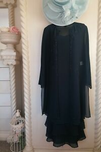 GINA BACCONI NAVY MOTHER OF THE BRIDE OUTFIT