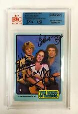 DUKES OF HAZZARD LOT Schneider Bach Wopat Best Signed Autograph Encapsulated PSA