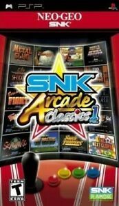 Snk Arcade Classics: Volume 1  PSP Game Only