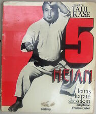 5 HEIAN katas karaté shotokan maître TAIJI KASE arts martiaux 1974