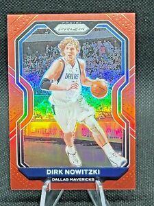 2020-21 Panini RED Prizm NBA Dirk Nowitzki Dallas Mavericks 031/299 #180