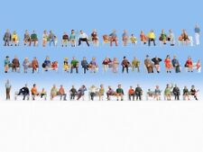 "Noch 38402 Spur N Mega-Spar-Set Figuren ""Sitzende"" 60 Stück #NEU in OVP##"