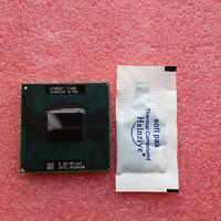 Intel Core 2 Duo Mobile T7600 2.33 GHz CPU Dual-Core Processor Socket M SL9SD