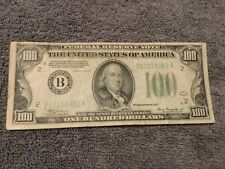 1934 A $100.00 Bill ...Bank of New York FRN ...w/ Free Shipping