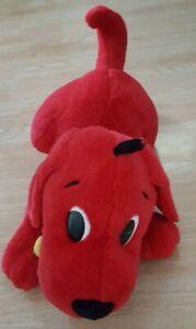 "Scholastic Large Barking Clifford The Big Red Dog Stuffed Animal Plush 24"" Soft"