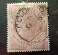 Ceylon stamp #142 used VF