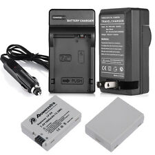 LP-E8 LPE8 Decoded Battery + Charger For Canon Rebel T5i T4i T3i T2i DSLR Camera