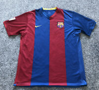 Nike Barcelona Home Football Shirt Top 2006/2007 - Adults Men's Size Medium M