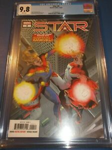 Star #4 Captain Marvel Wow CGC 9.8 NM/M Gorgeous Gem