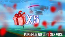 Pokemon Go 5 Day Gift Service