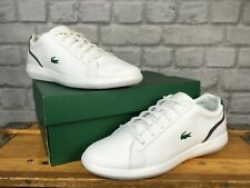 LACOSTE MENS UK 9 EU 43 AVANTOR 119 TRAINERS WHITE J