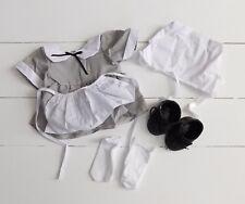 Vintage 1993 Nip Tender Heart Treasures Bear Girl Pilgrim Outfit, Doll Clothes