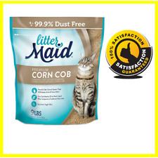 LitterMaid Premium Corn Cob Litter, 9 Pound Bag, Clumping Formula-99.9%Dust Free