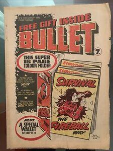 Bullet Comic #2 - 21st February 1976