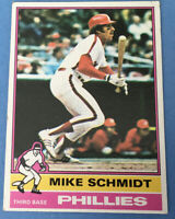 1976 Topps #480 MIKE SCHMIDT (Phillies) HOF