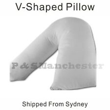 Posture Support  V-Shaped maternity boomerang Polyester Pillow