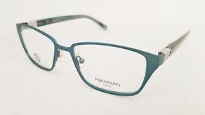 VERA WANG Ilya eyeglasses Frame Teal 50mm WOMEN Designer Optical NEW