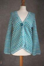 Cardigan 16   Green Blue White   Per Una