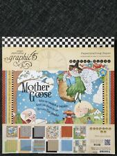Graphic 45 Mother Goose 2013 Rare Collection 12 X 12 Papercrafting 24 Sheets New