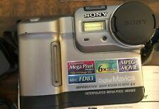 Sony Mavica MVC-FD83 Floppy Disk Digital Camera - 3x Zoom