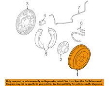GM OEM Rear Brakes-Brake Drum 22874950