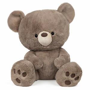 "GUND Kai Teddy Bear Plush Stuffed Animal, Taupe Brown, 23"""