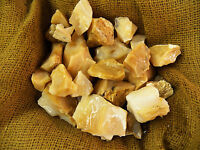 500 Carat Lots of Honey Onyx Rough - Plus a Very Nice FREE Faceted Gemstone