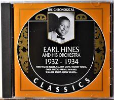 CD The Chronological Classics Earl Hines 1932-1934 Jazz Piano Blue Drag Rosetta