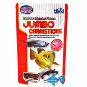 Hikari Tropical jumbo carnisticks larger Arowana Monster Carnivore fish food