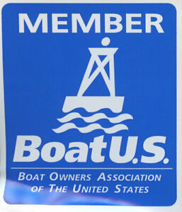 Boat Owners Association of the US (Boat US) window/bumper sticker/decal/applique