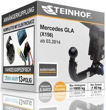 Für Mercedes-Benz GLA-Klasse X156 ab14 Anhängerkupplung abnehmbar 13pol E-satz