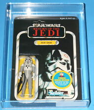 STAR WARS AT-AT DRIVER 48-BACK AFA 85 CLEAR BUBBLE UNPUNCHED
