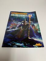 Warhammer Fantasy High Elves Edition Army Book Rulebook Supplement