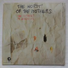 Frank Zappa, The Worst of The Mothers (1969),  Prog. Rock, 33 RPM LP, MGM STEREO