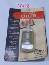 "NEW TOOL AID S & G THE LARGE OILER 98700 3/8"" NPT USA MADE S-82 RED PACKAGE"
