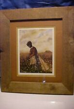 "Limited Edition Print 253 of 500 ""Pickin And Ginnin Ii"" by B Cummings black lady"