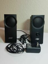 Bose Companion 2 Computer Speakers TESTED Works Great