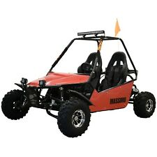 New Massimo Go Kart 200cc GKM-200 Automatic Transmission w/Reverse in Red